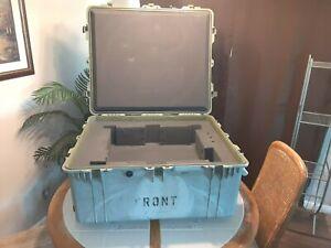 Pelican 1690 Protector Transport Case, Used, Includes Grid Foam,Desert Grey
