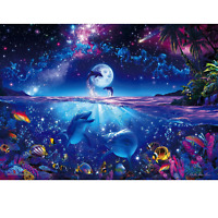 Jigsaw Puzzle 2000 Super Small Pieces - Lassen Wish On A Star (Glowing)(38x53cm)