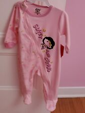 Wonder Woman Baby Girl pink Jumper 9 Month Dc Comics super cute onepiece suit