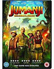 Jumanji Welcome to The Jungle DVD Digital 2018 Cert 12new Post