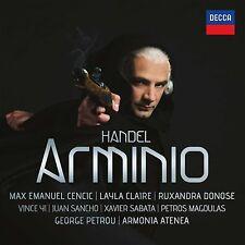 MAX E./Donose/cecoslovacche/Petrou/armonia Atenea Cencic-Arminio 2 CD NUOVO Archiv