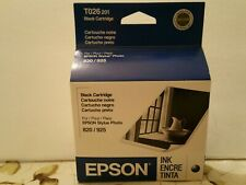 EPSON 820 / 925 Stylus Photo Black Ink Cartridge Exp 8/06 T026201 C13T026201