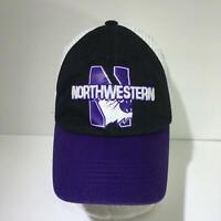NCAA Northwestern Wildcats Trucker Snapback Cap Hat OSFA