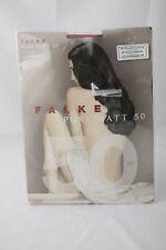 Falke ~ PURE MATT 50 ~ semi opaque tights BNWT ruby red Small