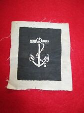 ORIGINAL CIVIL WAR US NAVY COXSWAIN [ANCHOR] RARER RATING BADGE ~ NAVAL