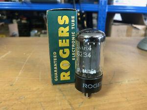 Vintage NOS Mullard Blackburn GZ34 5AR4 Vacuum Tube Tested Guaranteed!