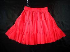 jupe rouge 10 ans MARESE en tulle - NEUVE