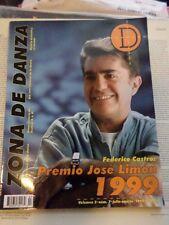 Zona de Danza magazine July August 1999 Federico Castro
