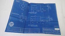 AntiqueBlueprint Industrial Art Detroit Automotive General Motors 1941 #4
