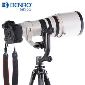 Benro GH2 Gimbal Head Panoramic Head w PL100 Plate Tripod Head For DSLR Camera