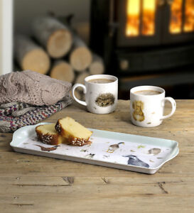 Wrendale Designs Animal Sandwich, Serving or Scatter Trays by Portmeirion