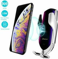 Wireless Car Charger R2 10W Fast Charging Automatic Clamping  for iPhone Samsung