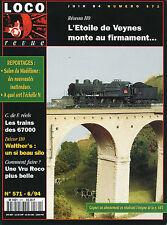 LOCO REVUE 571 DE 1994. SUPERDETAILLAGE DE LA Z2 DE JOUEF