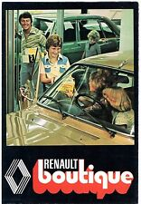 Renault Boutique Accessories 1977 UK Market Brochure 4 5 6 12 16 15 17 20 30