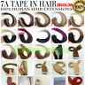 Adhésifs Tape Rubans Extensions de Cheveux Naturels Balayage Ombré Remy 40-60CM