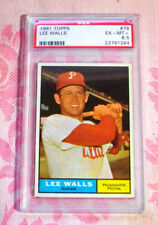 1961 Topps Baseball #78 Lee Walls Philiadelphia Phillies PSA EX-MT+ 6.5