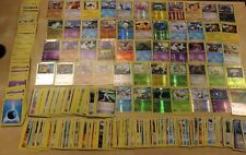Lot of 400 Pokemon Cards ~ Includes 50 Rares & Holos