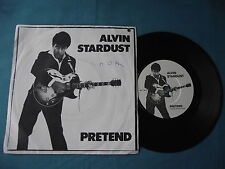 "Alvin Stardust - Pretend. 7"" vinyl single (7v2324)"