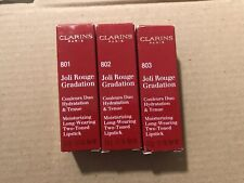 CLARINS JOLI ROUGE GRADUATION MOISTURIZING LONG-WEARING TWO-TONED LIPSTICK 3.5G
