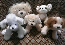 Webkinz Lil' Kinz Puppy Dog Lot of 5 Poodle Chihuahua Retriever Spaniel NO CODES
