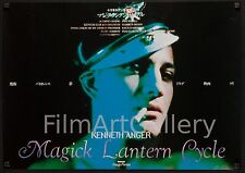 """KENNETH ANGER'S MAGICK LANTERN CYCLE  20""""x28"""" poster gay theme filmartgallery"""