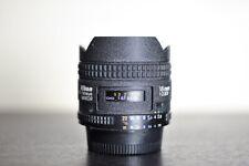 Nikon AF 16mm f/2.8 Fisheye FX Prime Lens - US Model