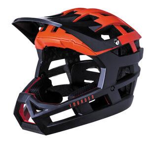 Kali Invader Full Face Trail Helmet Red/Black L-XXL (read description)