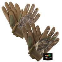 NEW BANDED GEAR SOFT SHELL BLIND GLOVES - B1070007 - DUCK HUNTING CAMO GLOVE