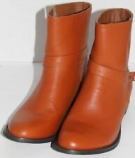 WOMEN SHOES UNZE LONDON ANKLE BOOTS Size EU 39  US 8M BROWN NEW