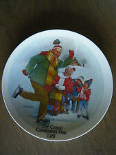 """Skating Lesson"" Collector Plate~ 2nd issue Csatari Grandparent Series~ No Box"