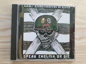 S.O.D Stormtroopers of Death Speak English or Die CD