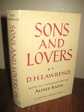 SONS AND LOVERS D.H. Lawrence MODERN LIBRARY Classic NOVEL Fiction