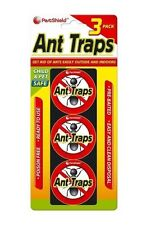PESTSHIELD ANT TRAPS GLUE EASILY GETS RID OF ANTS AND INSECTS