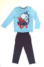Marvel Ultimate Spider-Man Boy's Pajama Pants & Shirt 2 Piece Set Age 6 NWT