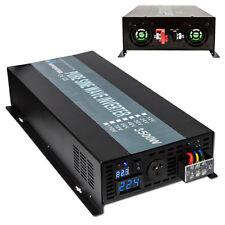 EMC CE approved 24V to 240V 50HZ 3500W Off Grid Pure Sine Wave Solar Inverter