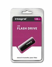 Integral BLACK 128GB USB 2.0 Flash Drive. - INFD128GBBLK