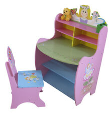 Liberty House Toys Little Girls Pink Fairy Learning Desk and Chair