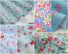 Fat Quarter Unbranded Floral 100% Cotton Craft Fabrics