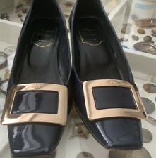 roger vivier Blue Shoes Size 35
