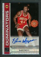 2020-21 ELVIN HAYES 07/49 AUTO PANINI DONRUSS HALL DOMINATORS AUTOGRAPHS