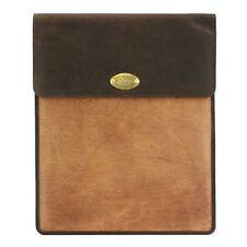 Grand Brown / Tan Cuir Tablet Cas (canard) 25112