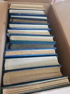 12 dicke Alben aus aller Welt ab Altmaterial Lagerbücher Sammlungen auch ** 10C