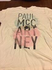 Paul Mccartney On The Run 2011 Concert T-Shirt Size L