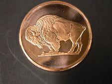 2011 - 1 oz. AVDP .999 Fine Copper Round W/ Buffalo Obverse