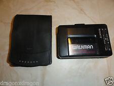 Sony wm-f2015 Walkman, difetto, nessuna riproduzione cassette, radio OK