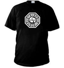 T-SHIRT LOST DHARMA CIGNO maglia SWAN ARROW HYDRA PERLA felpa maglietta polo NE
