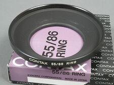 Contax 55/86 anillo para metal hood/gegenlichtbl. 1-5, Top