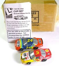 Life-Like M Chassis Nascar Car Set #24 #5 Slot Car 9702