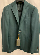 NWT ICONIC $1,750 CANALI Kei Green Sport Coat Jacket Unstructured 36 US 46 EU