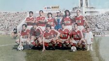 Photo  orig autograph signed soccer footballers club Huracan 1995 Argentina